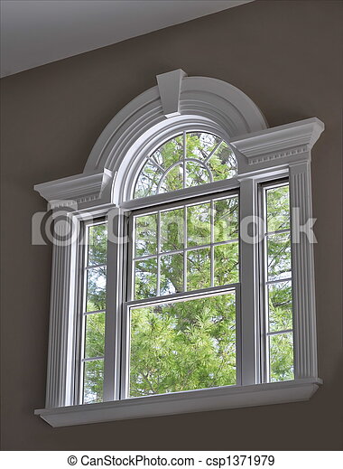 Arched Window - csp1371979