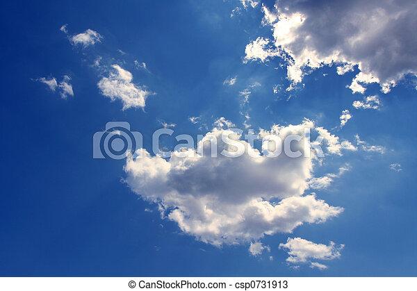 Blue sky - csp0731913