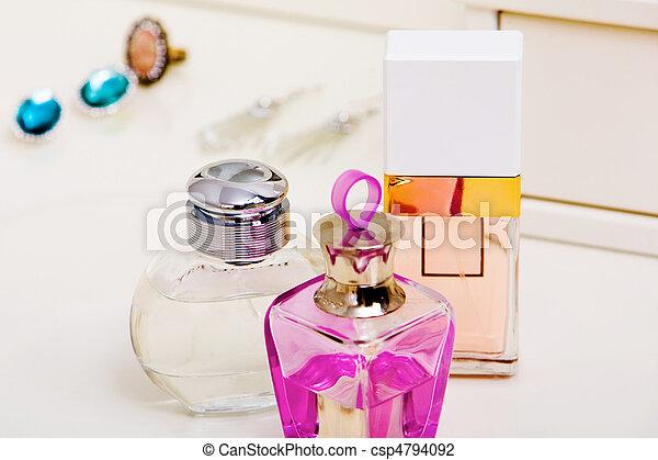 Bottles with fragrances - csp4794092
