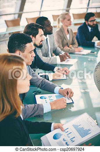 Business education - csp20697924