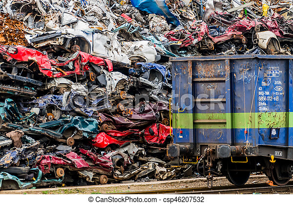 cars were scrapped - csp46207532