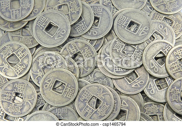 Chinese Coins - csp1465794