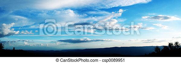 Cloudy sky - csp0089951
