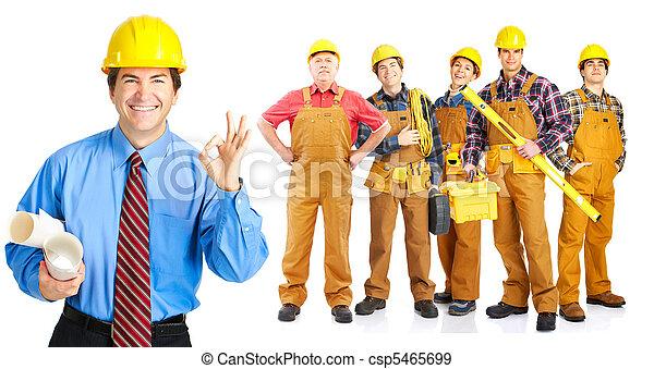 contractors people - csp5465699