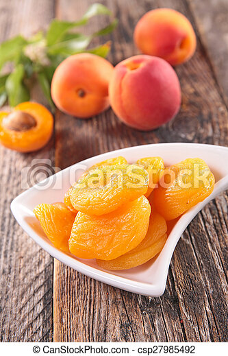 dried apricot - csp27985492