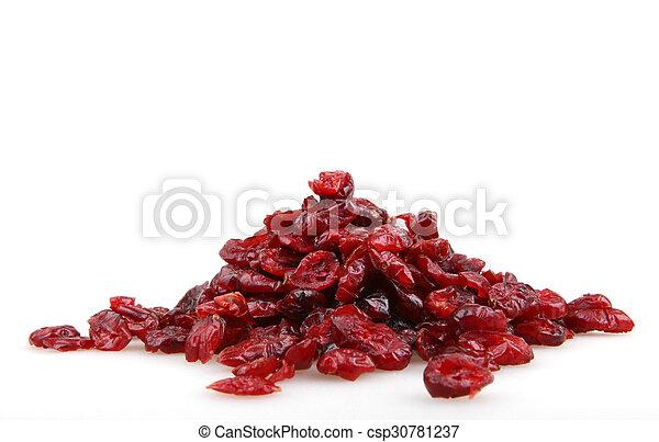 Dried cranberries - csp30781237