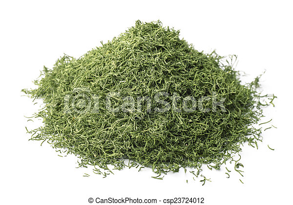 Dried dill - csp23724012