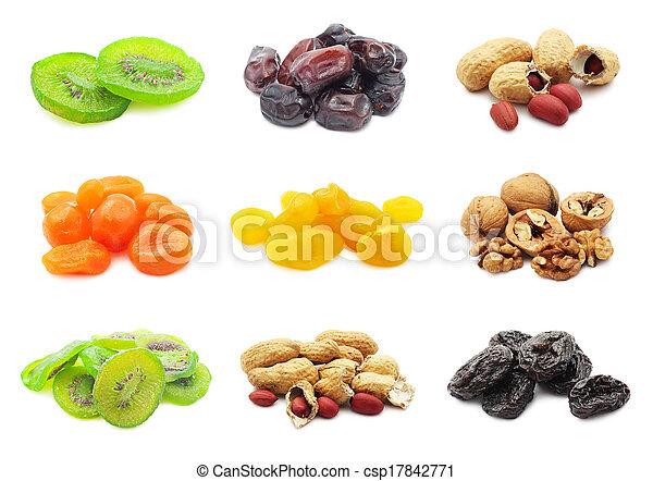 Dried fruits - csp17842771