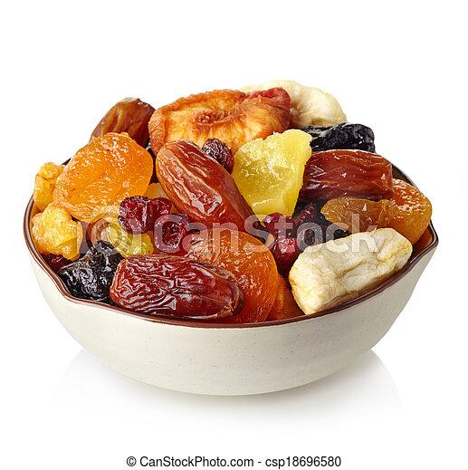 Dried fruits - csp18696580