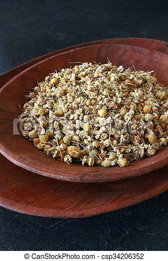 Dried herbs - csp34206352
