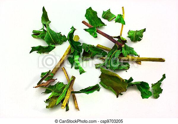 Dried herbs - csp9703205