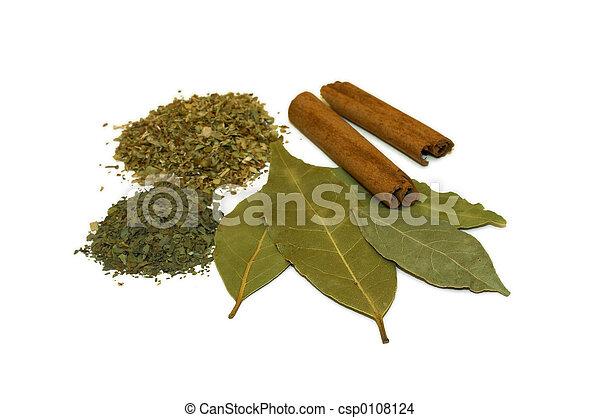 Dried Herbs - csp0108124