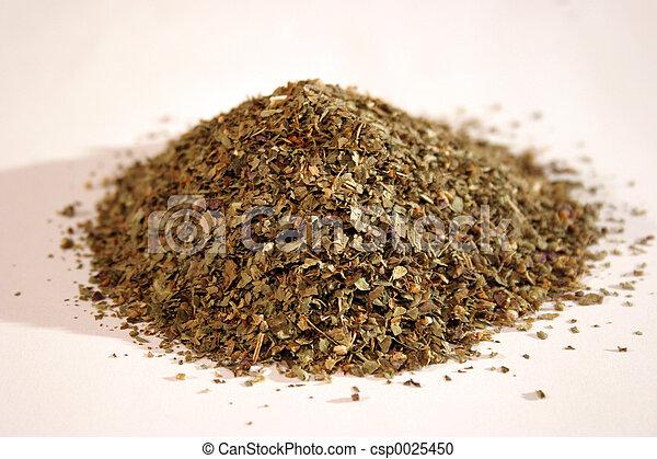 Dried herbs - csp0025450
