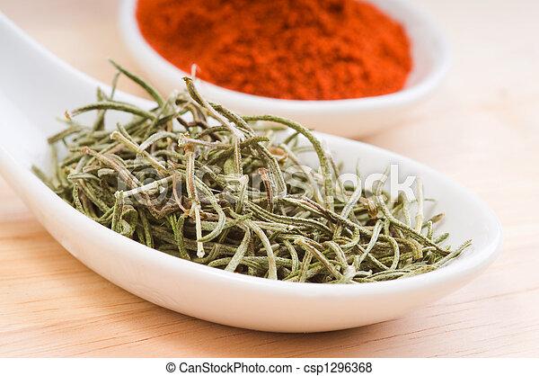 Dried Rosemary - csp1296368