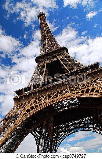 Eiffel tower - csp0749727