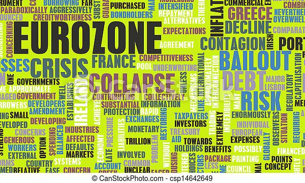 Eurozone Crisis - csp14642649