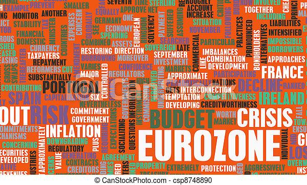 Eurozone Crisis - csp8748890