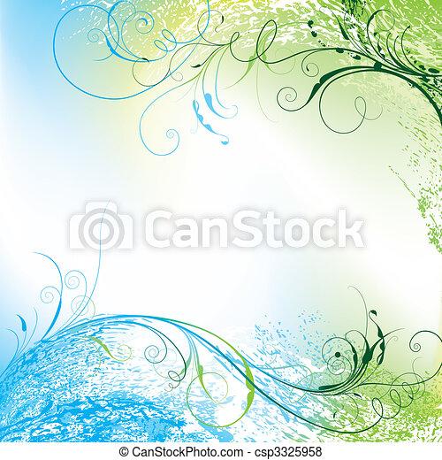 Floral Background - csp3325958