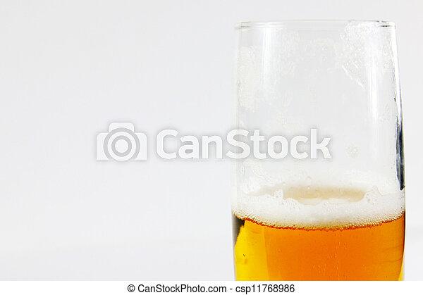 goblet with beer - csp11768986