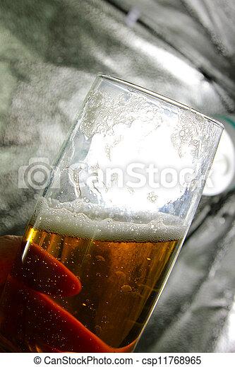 goblet with beer - csp11768965