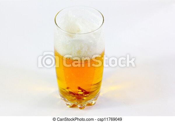 goblet with beer - csp11769049