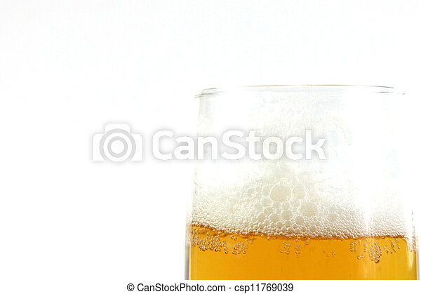 goblet with beer - csp11769039
