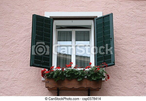 Green window - csp0378414