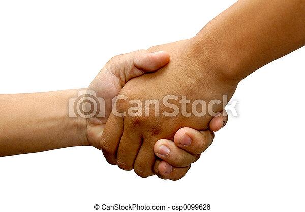 Hand Shake - csp0099628