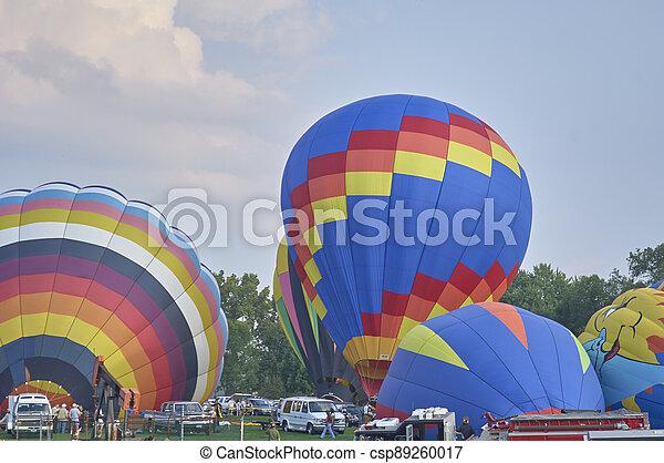 Hot Air Balloons - csp89260017