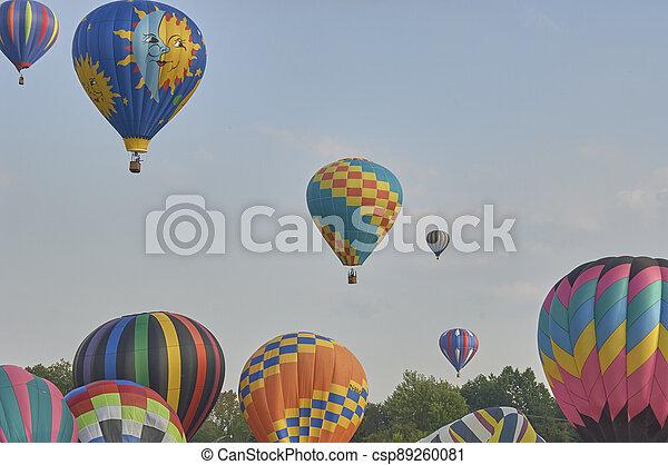 Hot Air Balloons - csp89260081
