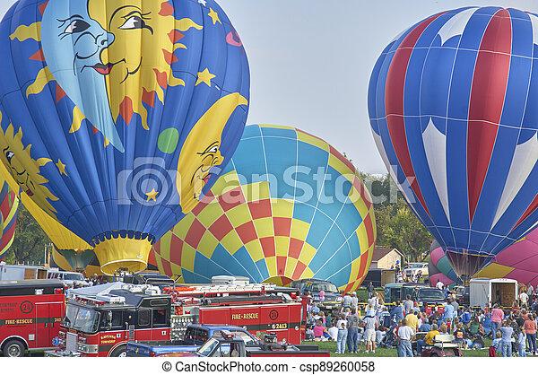 Hot Air Balloons - csp89260058