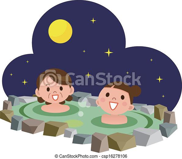 Hot Springs - csp16278106