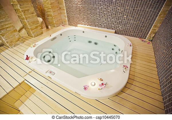 Hot tub - csp10445070