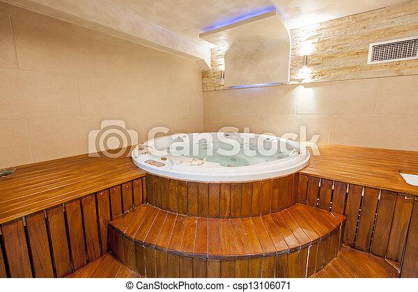 Hot tub - csp13106071