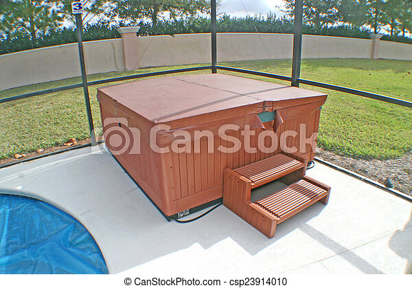 Hot Tub - csp23914010