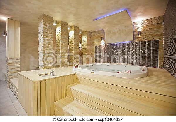 Hot tub - csp10404337