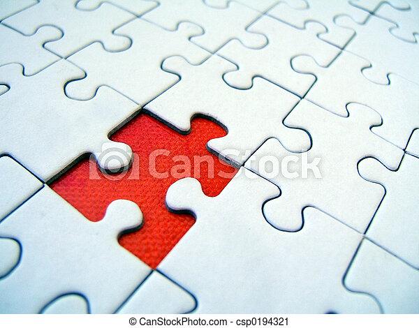 Jigsaw pattern - csp0194321