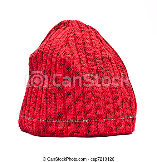 Knitted wool hat - csp7210126