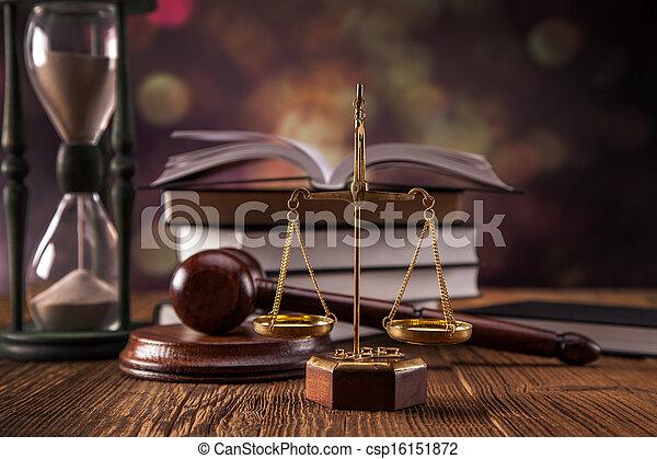 Law concept - csp16151872