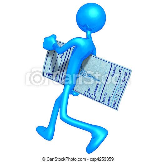 Medical Prescription - csp4253359