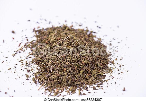 Mixed dried herbs. - csp56334307