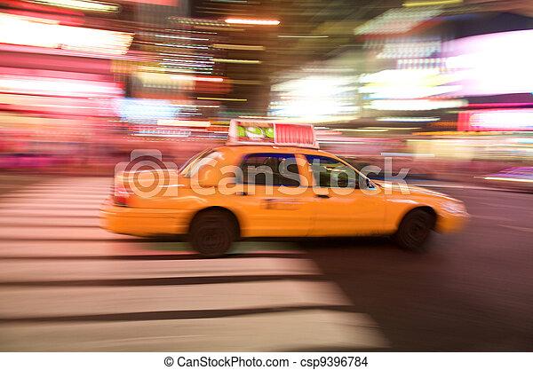 New York City Taxi - csp9396784