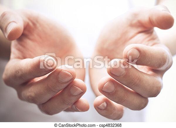 Open hands - csp4832368