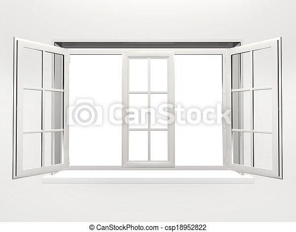 Opened window - csp18952822