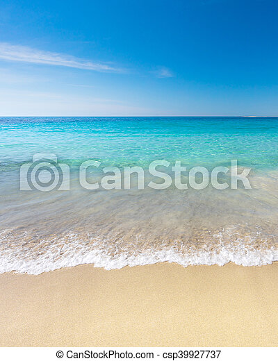 Paradise Beach - csp39927737