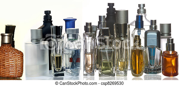 Perfume and fragrance bottles - csp8269530