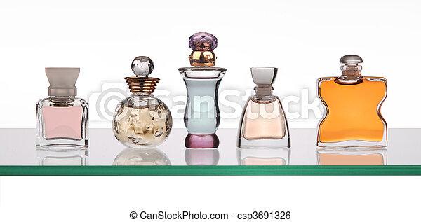perfume bottles - csp3691326