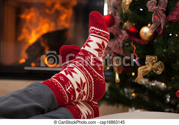 Relax after christmas - csp16863145