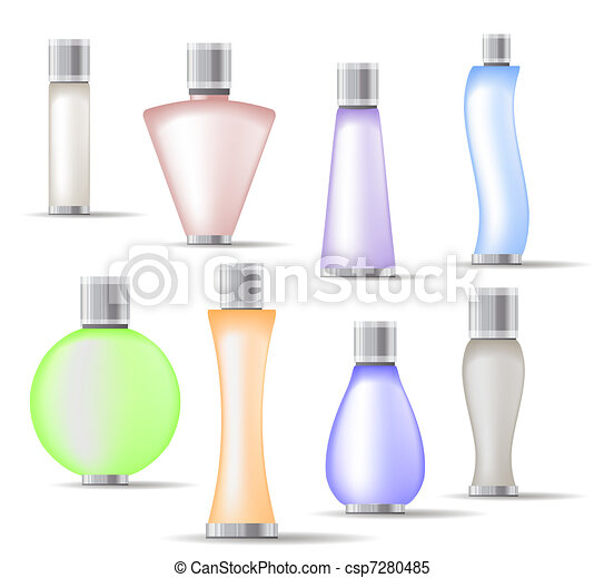 Set of fragrance bottles - csp7280485
