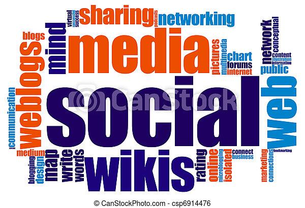 Social media - csp6914476